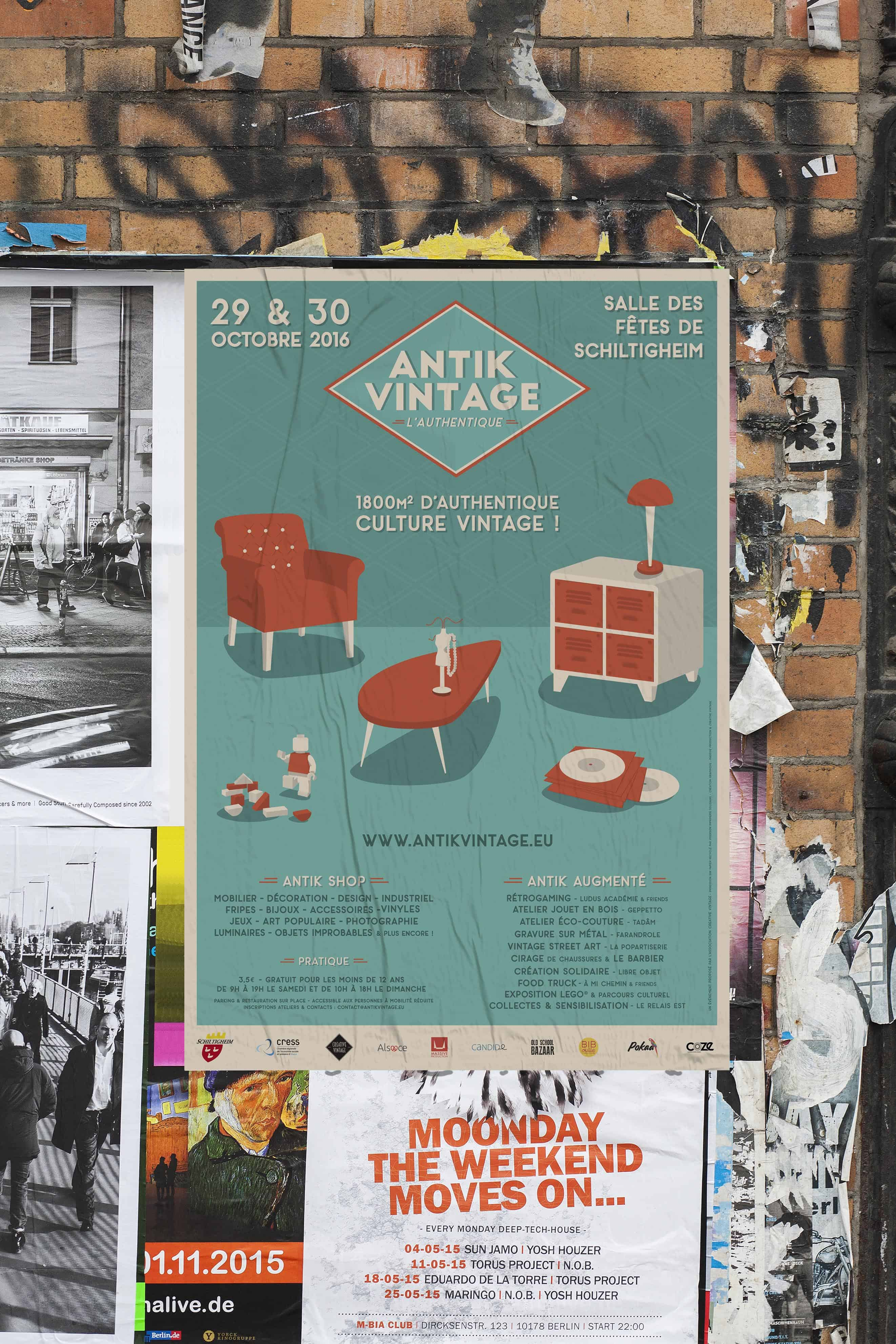 poster-de-rue-illustration-vectorielle-pour-levenement-antik-vintage-sur-strasbourg