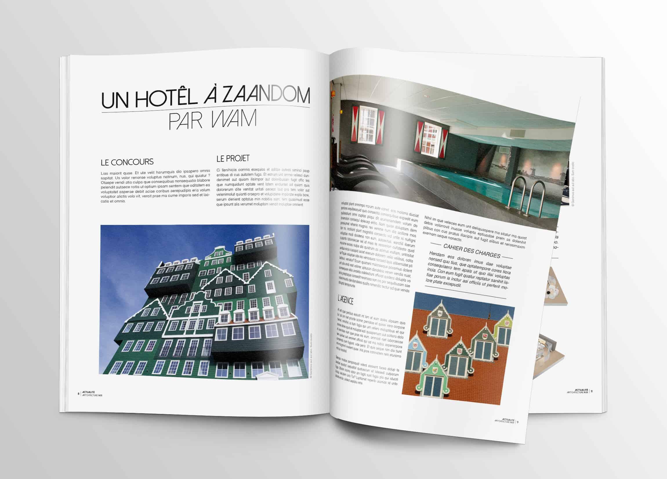 couverture-magazine-darchitecture-double-page-edition-graphisme-minimaliste