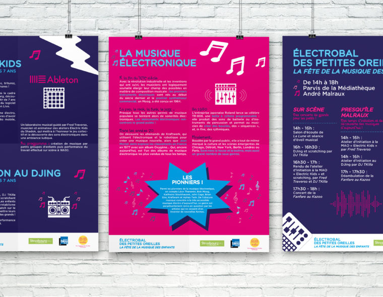 panneaux-signaletiques-pour-la-fete-de-la-musique-des-enfants-a-strasbourg