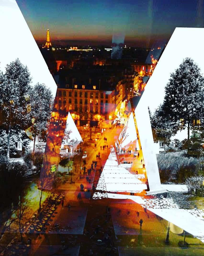 photomontage-photo-dune-ville-de-nuit-sous-un-pont