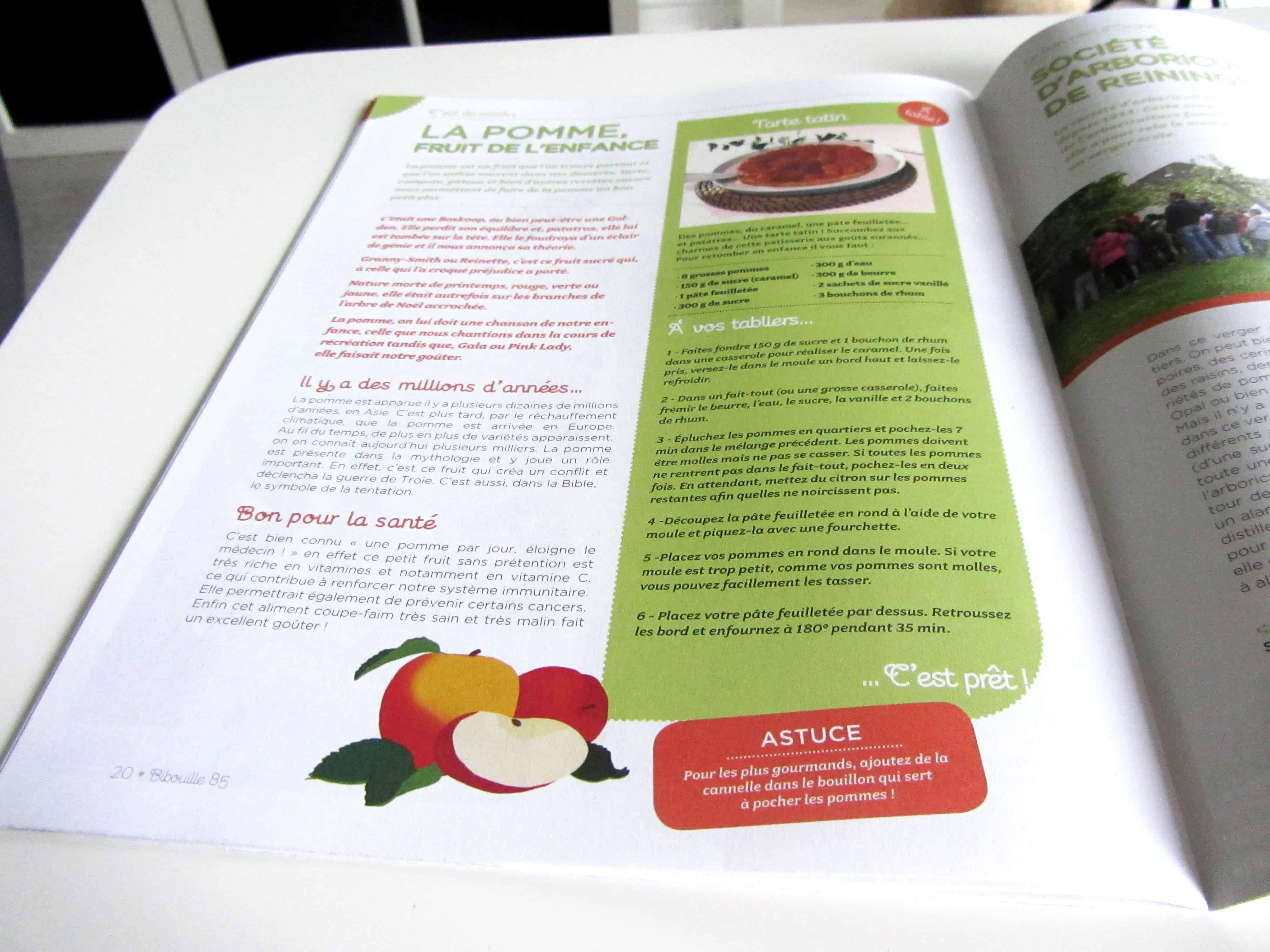 parution-llustration-rubrique-cest-de-saison-de-pomme-dans-le-magazine-bibouille-recette-dessin