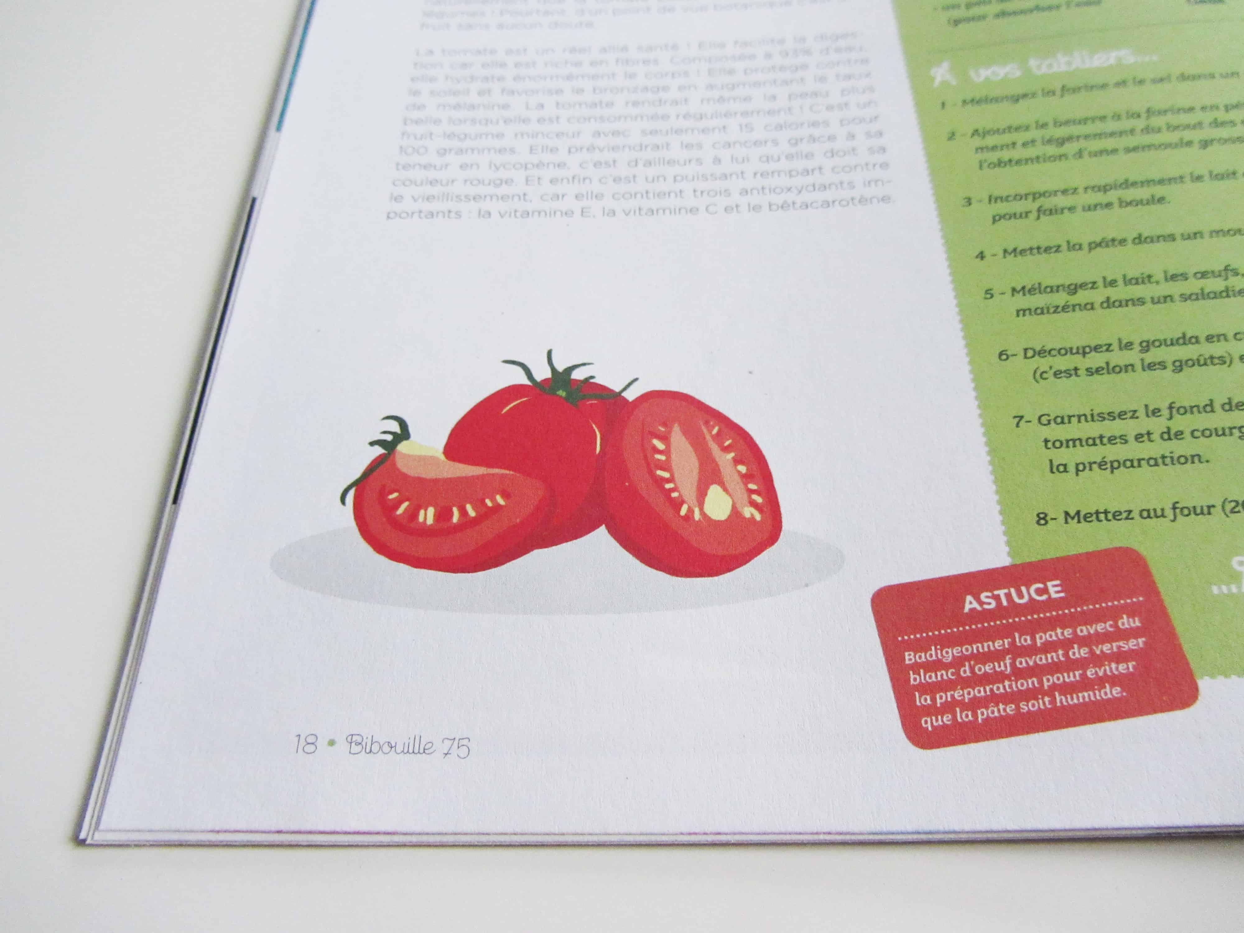 parution-illustration-dans-la-rubrique-cest-de-saison-de-la-tomate-dans-le-magazine-bibouille-recette-dessin
