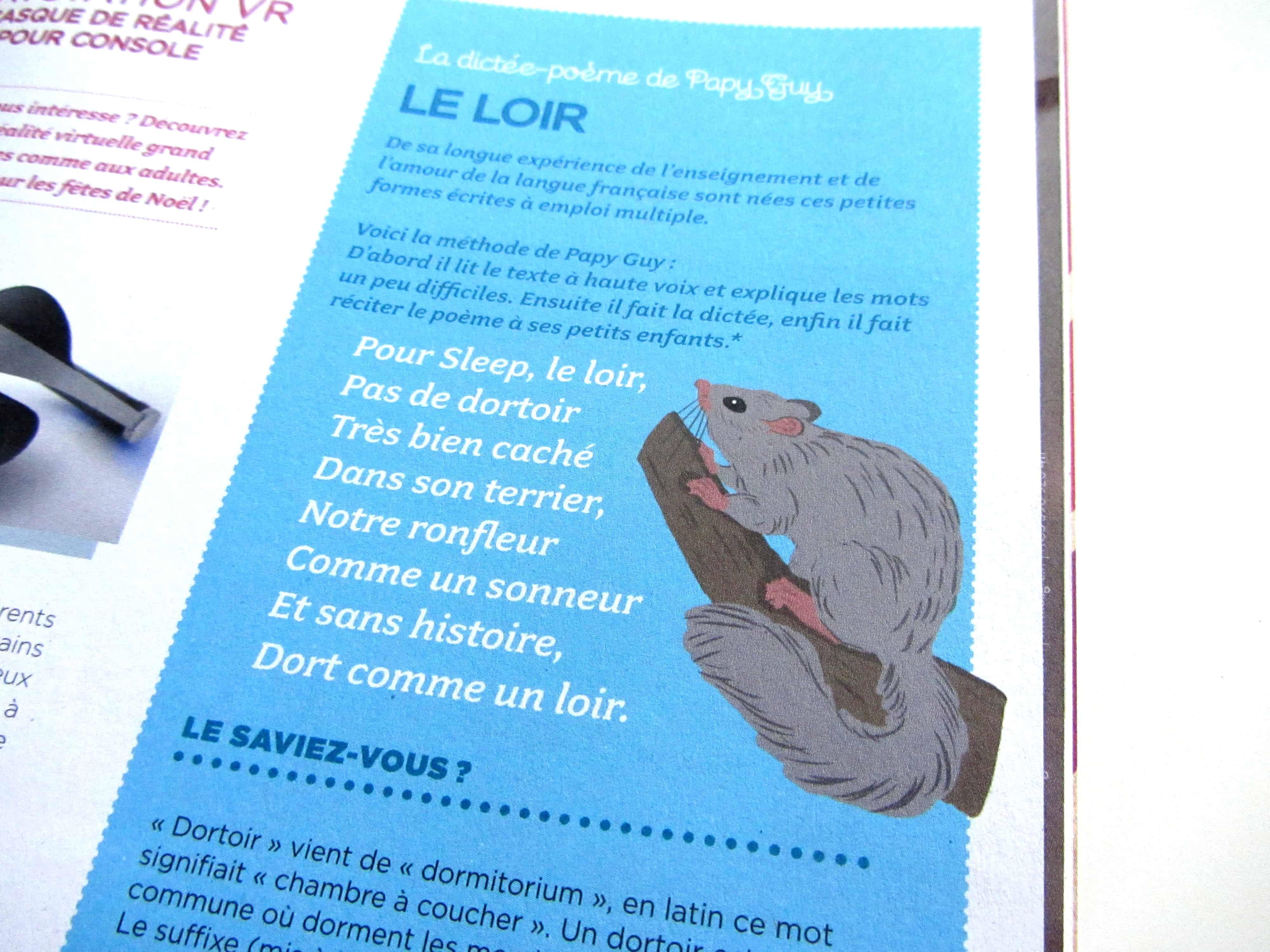 parution-illustration-dictée-sur-le-loir-dans-le-magazine-bibouille-dessin