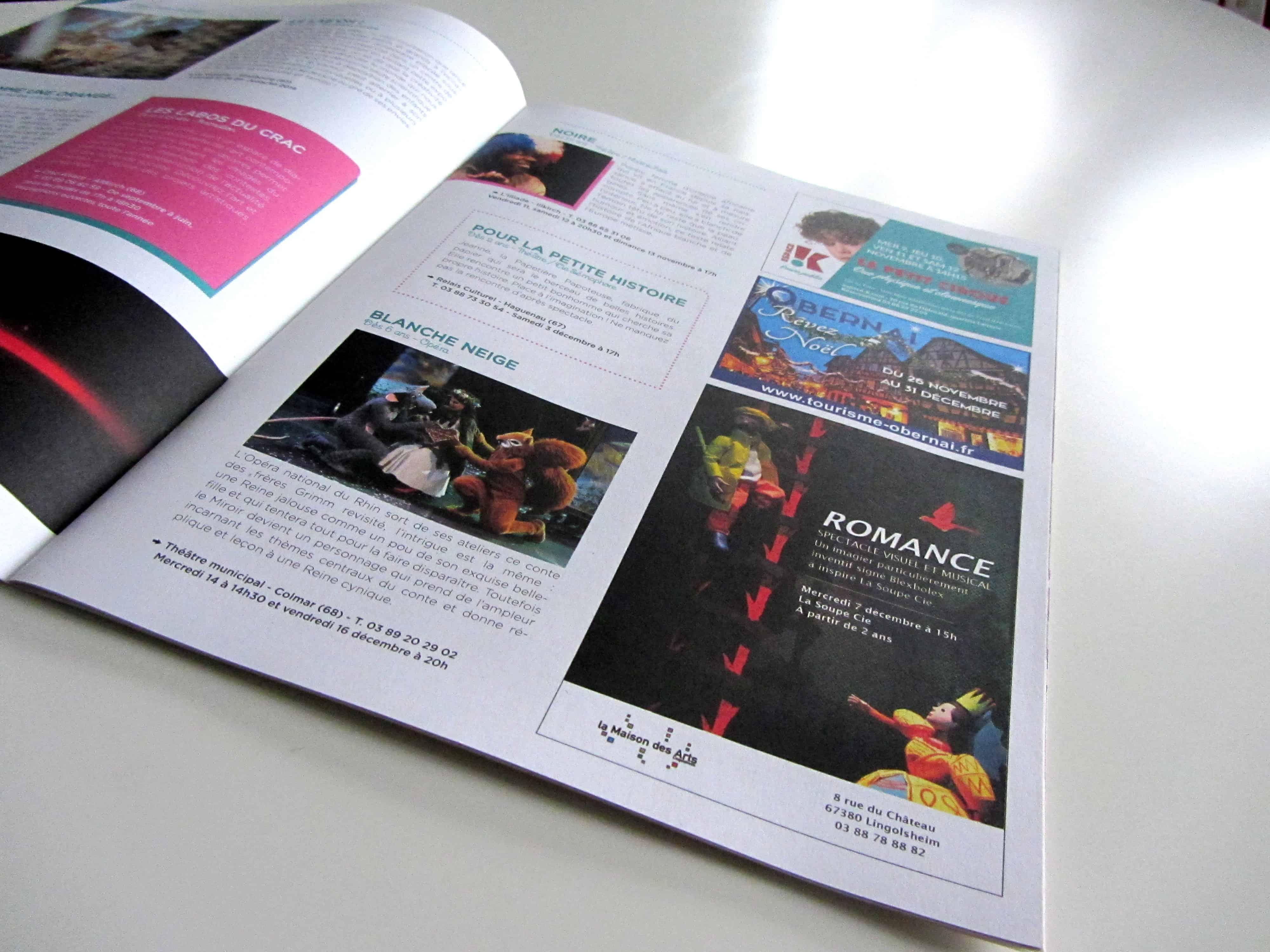 mise-en-page-de-la-rubrique-cest-lactu du-magazine-bibouille-destine-aux-famille-edition-en-alsace