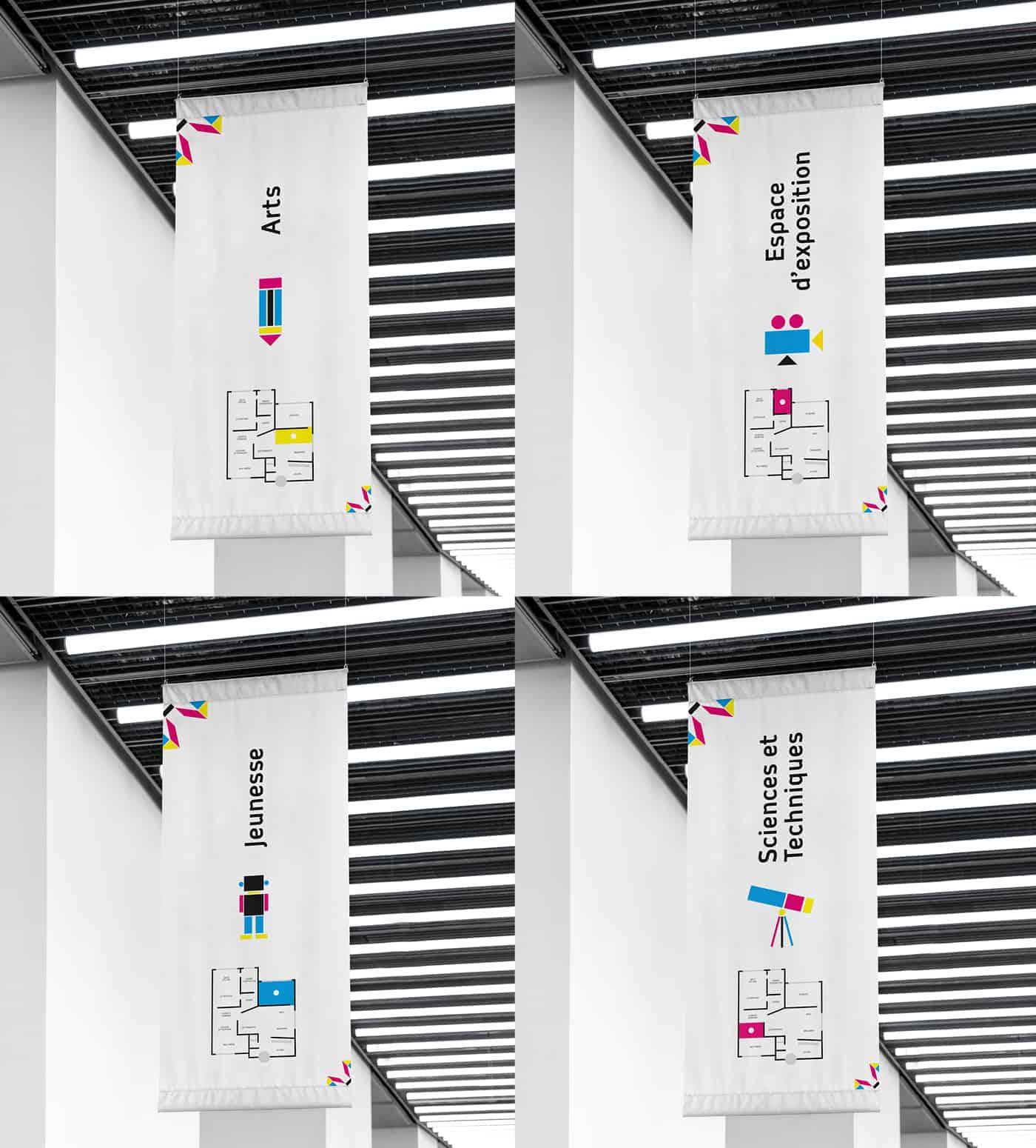 panneaux-signaletiques-de-la-mediatheque-de-montreuil