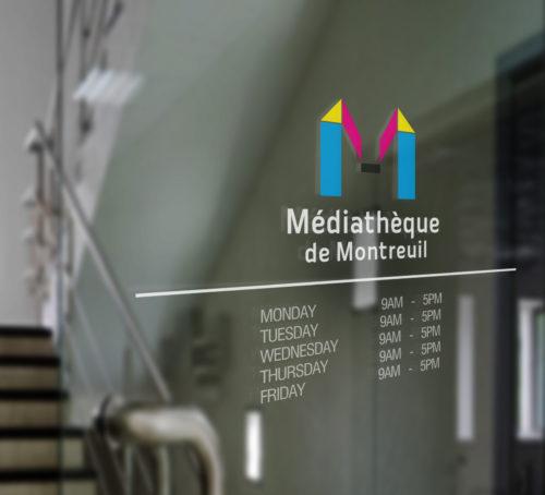 Médiathèque de Montreuil