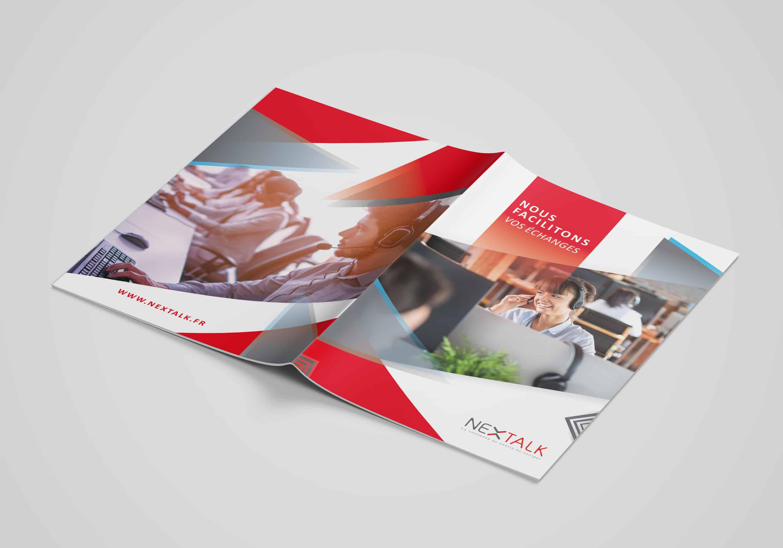 couverture-et-4e-de-la-brochure-de-presentation-de-service-pour-nextalk
