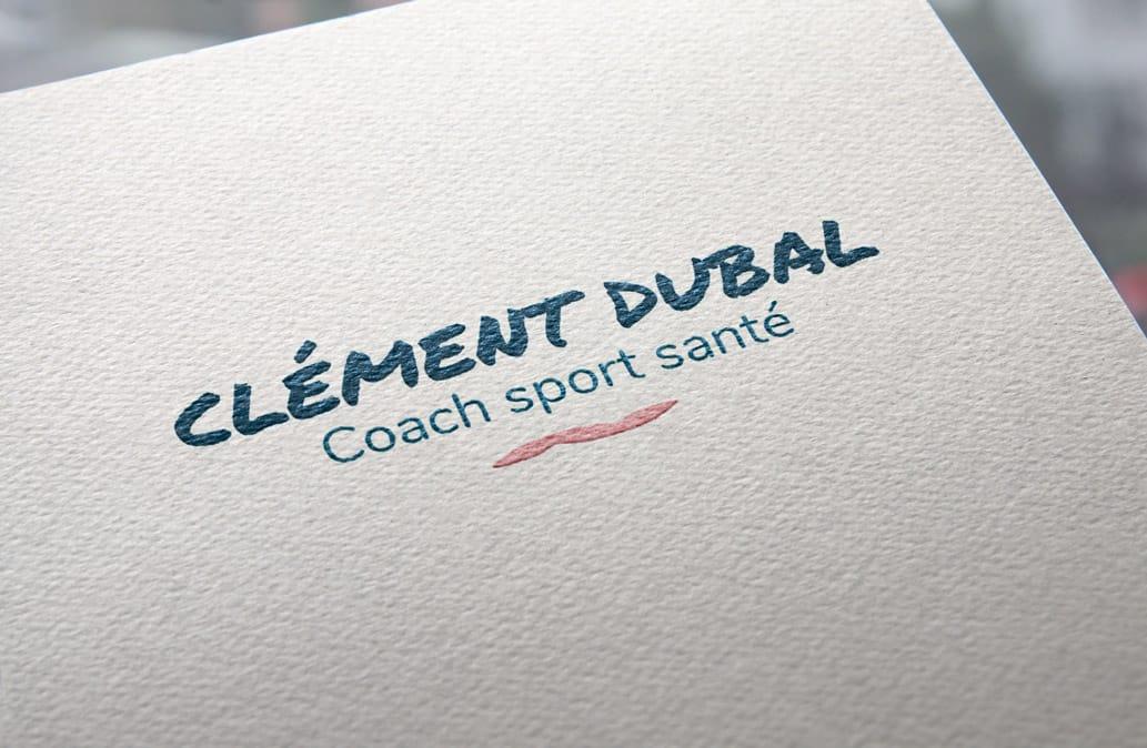 creation-du-logo-de-clement-dubal-coach-sport-sante-a-strasbourg